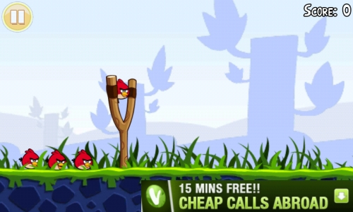 angry birds ad